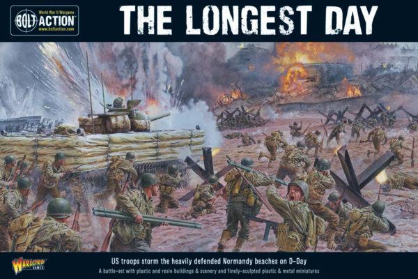 The Longest Day  D-Day battle-set