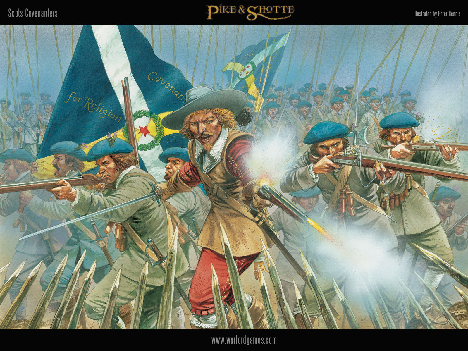 Illustrations P&S Covenanter-wallpaper