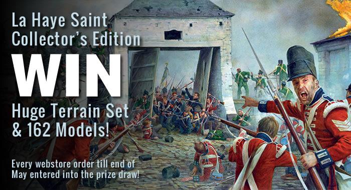 La Haye Saint Prize Draw