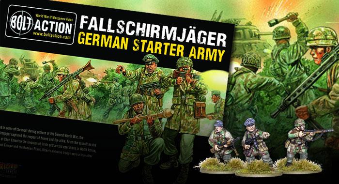 Fallschirmjager plastics