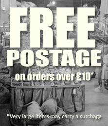 Free Postage on orders over £10/$15* | *Very large items may carry a surcharge.