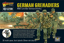 German Grenadiers plastic set