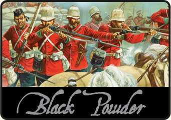 Black Powder, wargaming 1700 -1900. Click to visit the Black Powder section on our webstore.