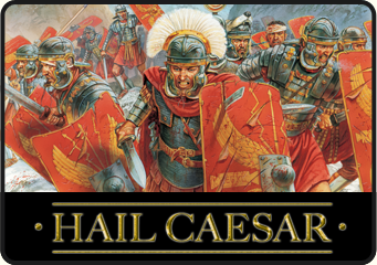 Hail Caesar, wargaming 3000BC - 1500AD. Click to visit the Hail Caesar section on our webstore.