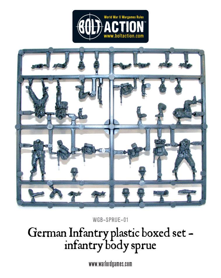 Warlord Games Plastic Sprues