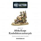 Webstore: Afrika Korps Kradschutzen motorcycle