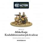 Webstore: Afrika Korps Kradschutzen motorcycle and sidecar