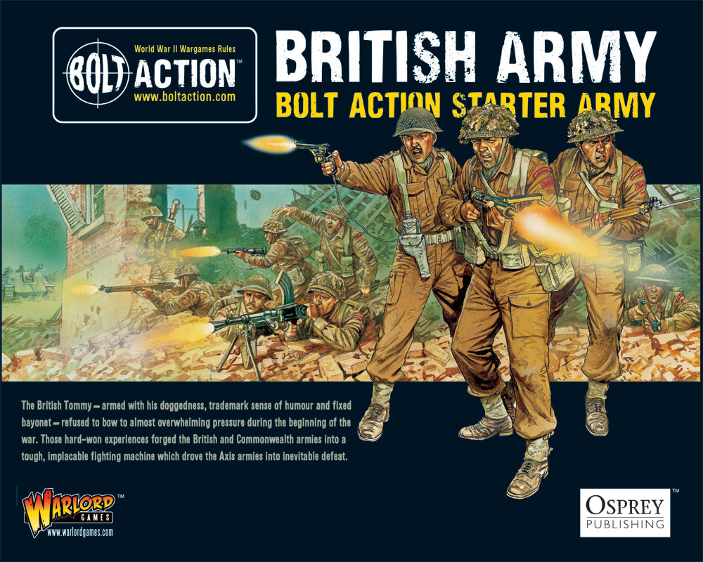 Announcement: Bolt Action Online Campaign - Warlord Games
