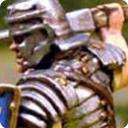 Roman soldier with shield 3