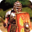 Roman soldier with shield 1