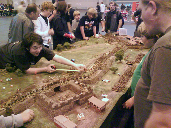 Antonine Wall game board at Games Day 1