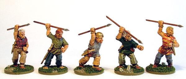 Celt Javelinmen