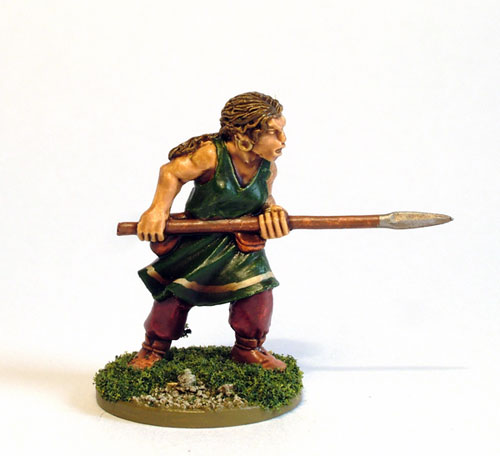 Female Celt Warrior B