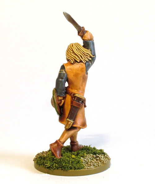 Female Celt Warrior D (rear)