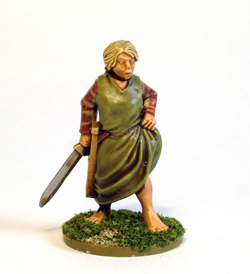 Female Celt Warrior E