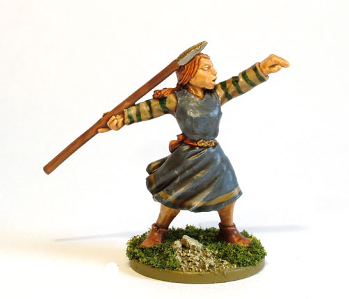 Female Celt Warrior A