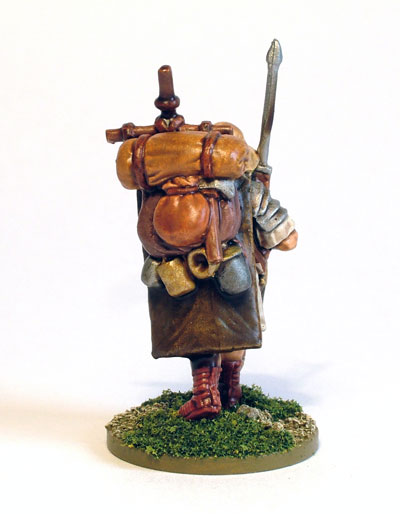Marching Roman Legionary 1 (rear)