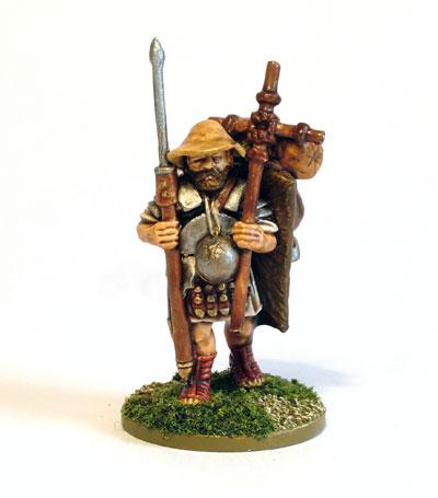 Marching Roman Legionary 1