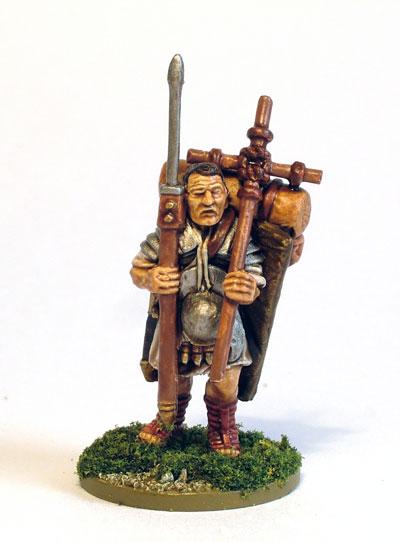 Marching Roman Legionary 2