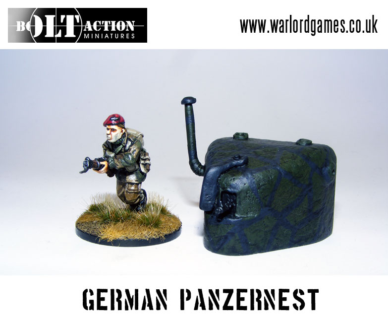 Bolt Action German Panzernest Front