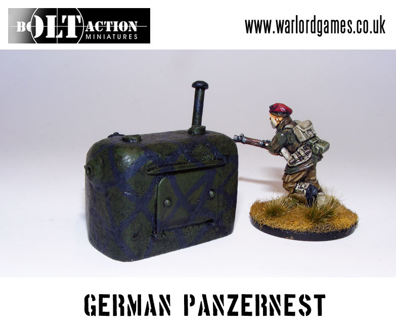 Bolt Action German Panzernest Rear