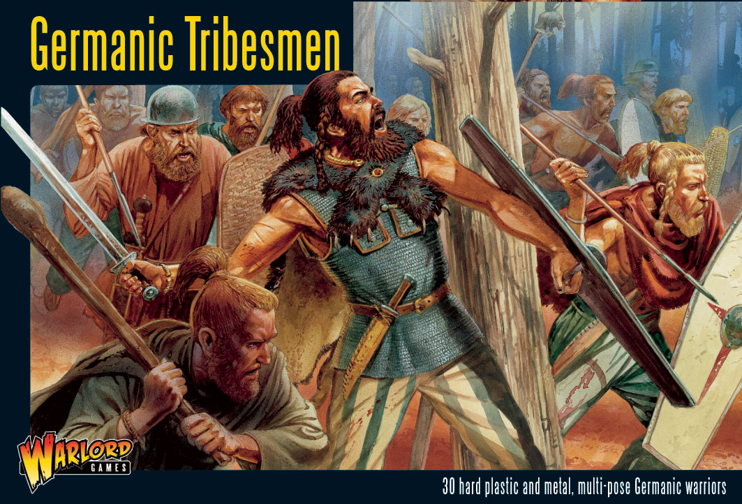 Ancient German Barbarians http://www.warlordgames.com/2793/preview-ancient-german-tribesmen/