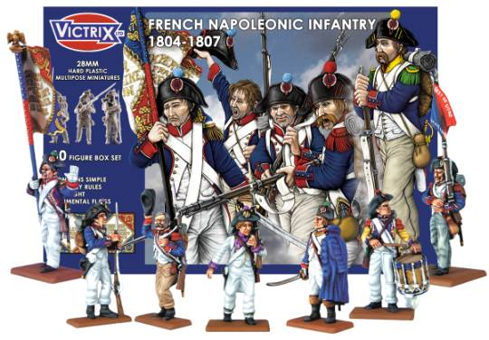 Now Available: Victrix Napoleonic French 1804-1807 - Warlord
