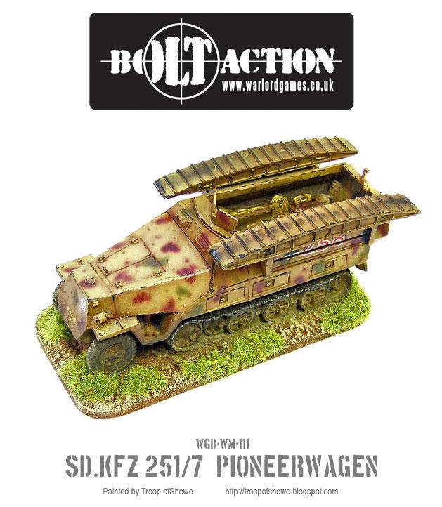 Sdkfz 251/7 Pioneerwagen 1