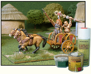 Army Painter products and the Celts.