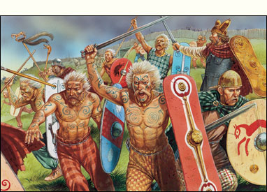 Ancient Britons on the charge!