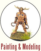 Painting and Modeling Ancient Britons
