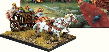A celtic chariot miniature.