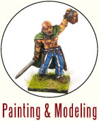 Painting and Modeling Celts