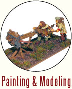 Painting and Modeling Dacians