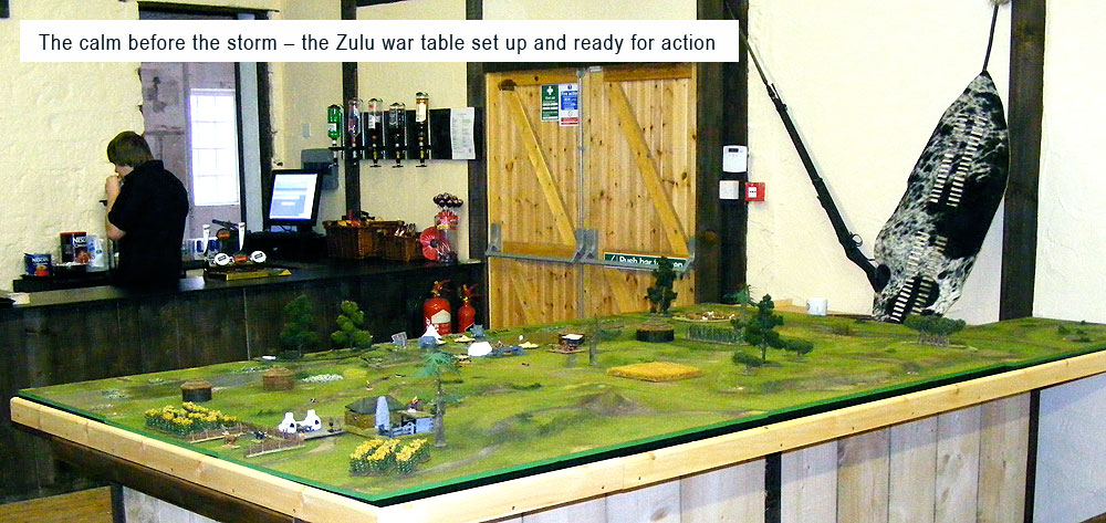 Black Powder Open Day Zulu Table