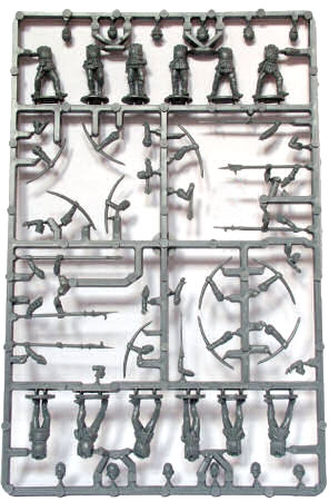 Plastic Perry War of the Roses Infantry Sprues 1