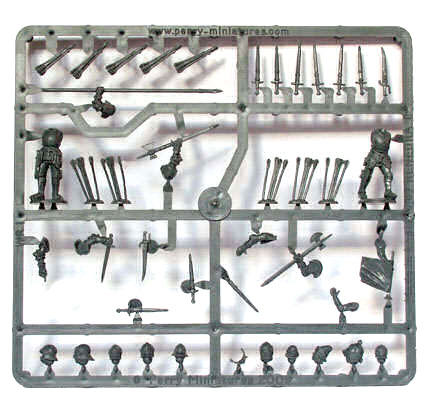 Plastic Perry War of the Roses Infantry Sprues 2