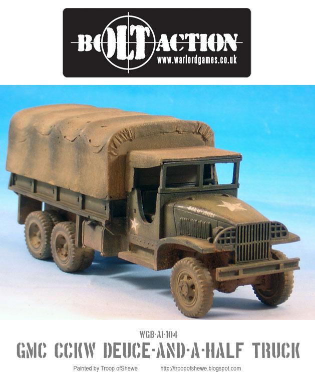 GMC CCKW Deuce-and-a-Half truck 1