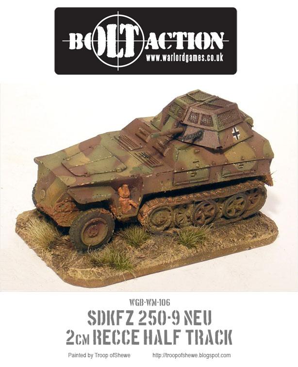 SDKFZ NEU 250-9 2cm Recce Half-Track 4