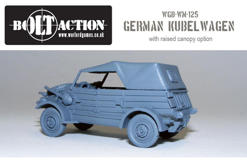 Kubelwagen unpainted