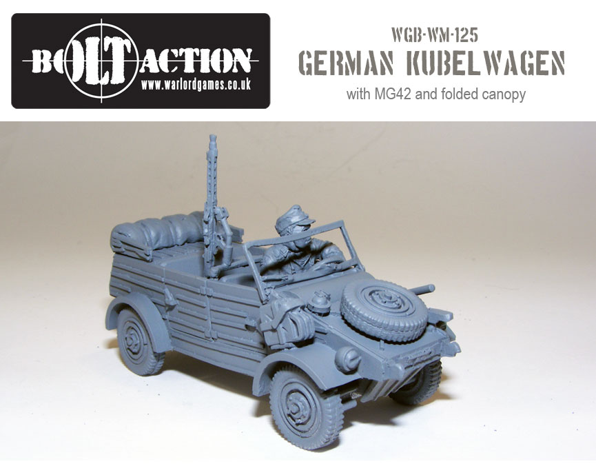 Volkswagen Kubelwagen with MG42 1