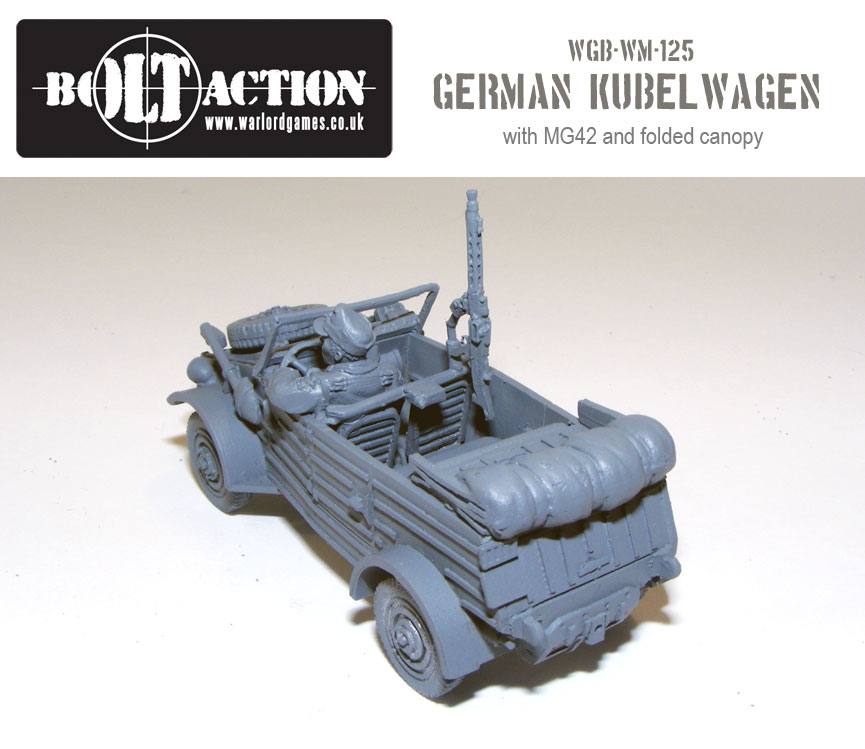 Volkswagen Kubelwagen with MG42 3