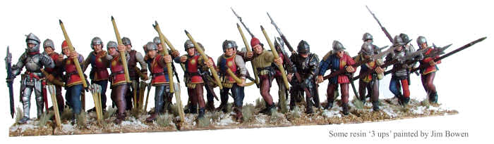 Plastic Perry War of the Roses Infantry