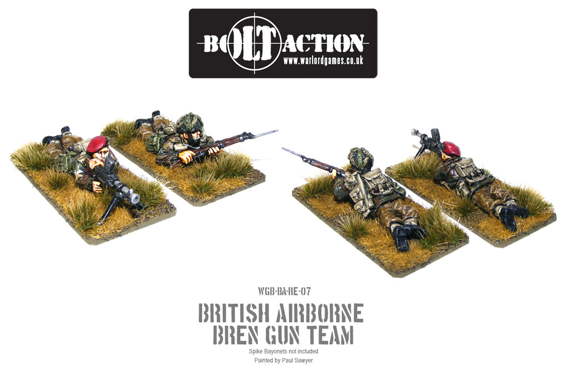 Bolt Action Red Devils Reinforcements 7