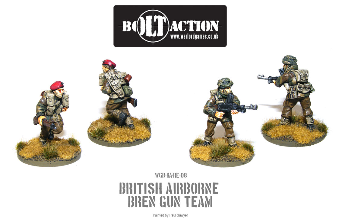 Bolt Action Red Devils Reinforcements 8