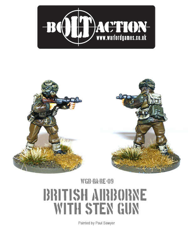 Bolt Action Red Devils Reinforcements 9