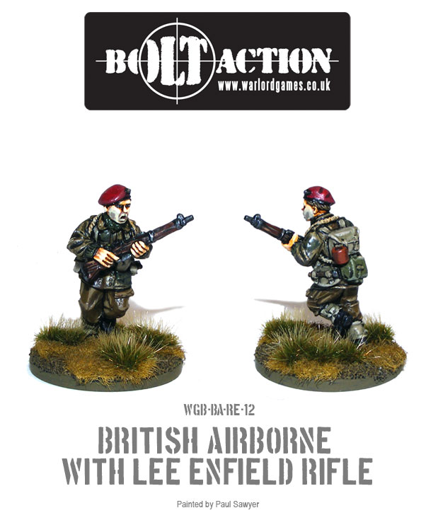 Bolt Action Red Devils Reinforcements 12