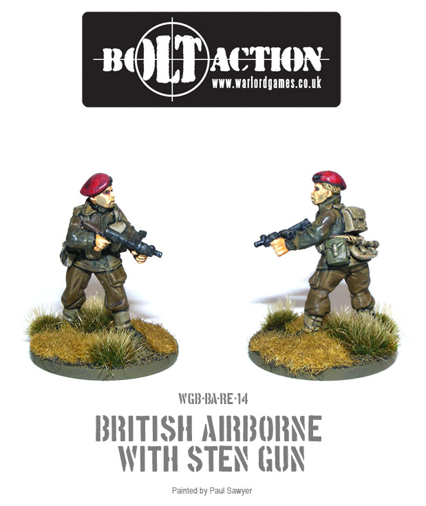 Bolt Action Red Devils Reinforcements 14