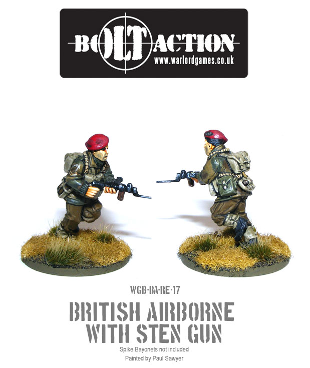 Bolt Action Red Devils Reinforcements 17