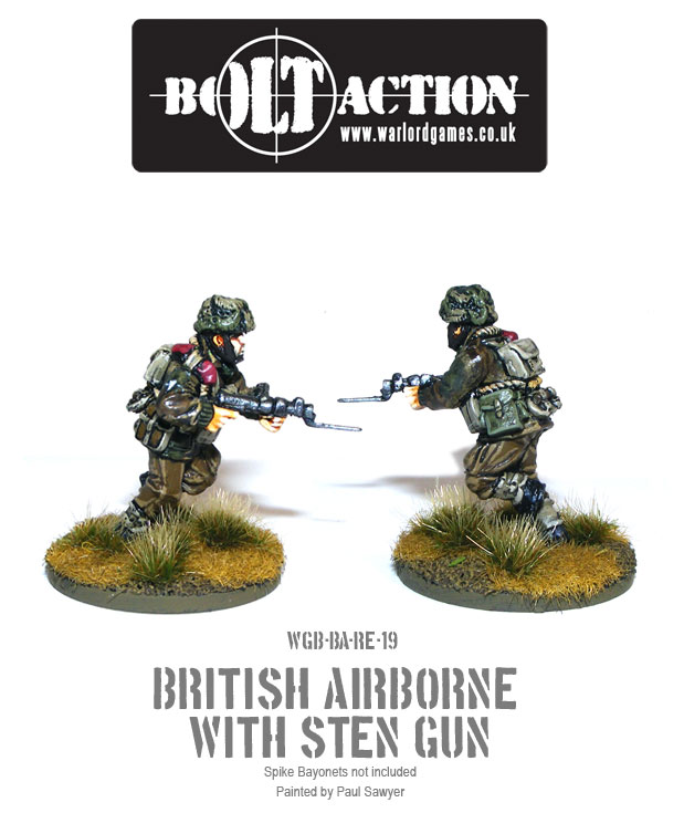Bolt Action Red Devils Reinforcements 19